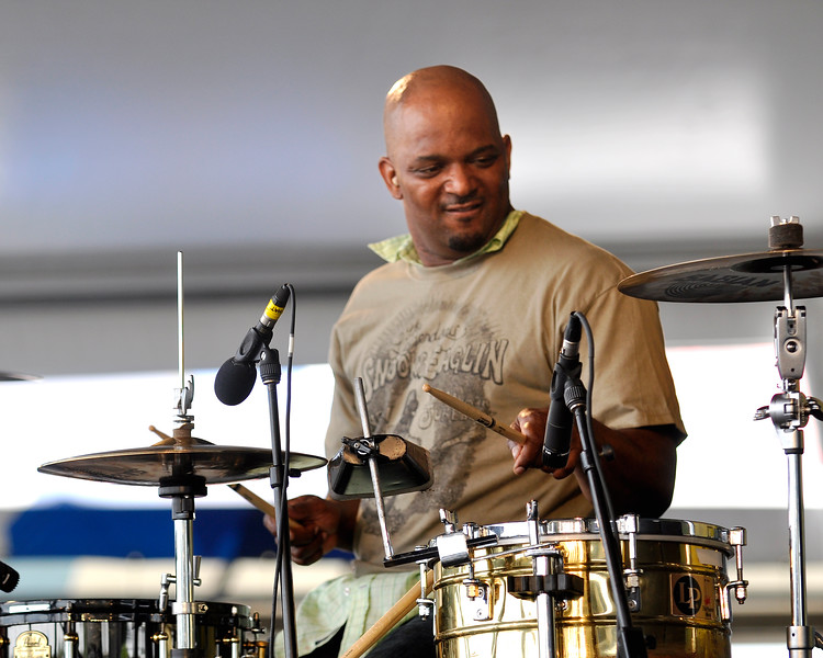 Terence Higgins performing with Jon Cleary & the Absolute Monster Gentlemen on May 3, 2009.