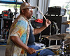 Raymond Weber performing live with Ivan Neville's Dumpstaphunk at the New Orleans Jazz & Heritage Festival on April 25, 2009.
