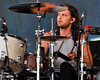 Nathan Followill performing with the Kings of Leon at the New Orleans Jazz & Heritage Festival on May 2, 2009.