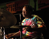 """Jeff """"Tain"""" Watts performs at the Monterey Jazz Festival on September 17, 2005."""