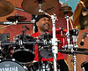 Carter Beauford performing with the Dave Matthews Band at the New Orleans Jazz & Heritage Festival on April 26, 2009.
