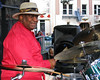 Bernard Purdie perfoms with the Godfathers of Groove at the North Beach Jazz Festival in San Francisco on July 29, 2007.