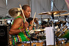 Willie Green performing with the Neville Brothers at the New Orleans Jazz & Heritage Festival on May 3, 2009.
