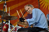 NEW ORLEANS, LA-APRIL 25: Levon Helm performs at the New Orleans Jazz & Heritage Festival on April 25, 2010. (Photo by Clayton Call/Redferns)