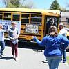 DHS graduation bus