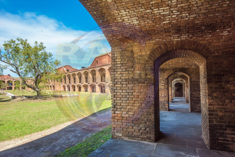 Fort Jefferson Parade Yard and arches.jpg