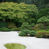 The Flat Garden in Portland Japanese Garden