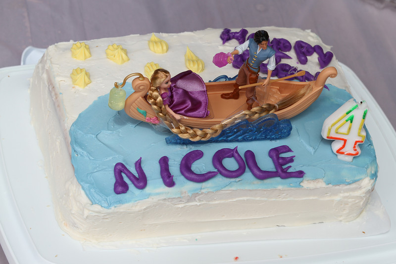 Nicole 4th Birthday