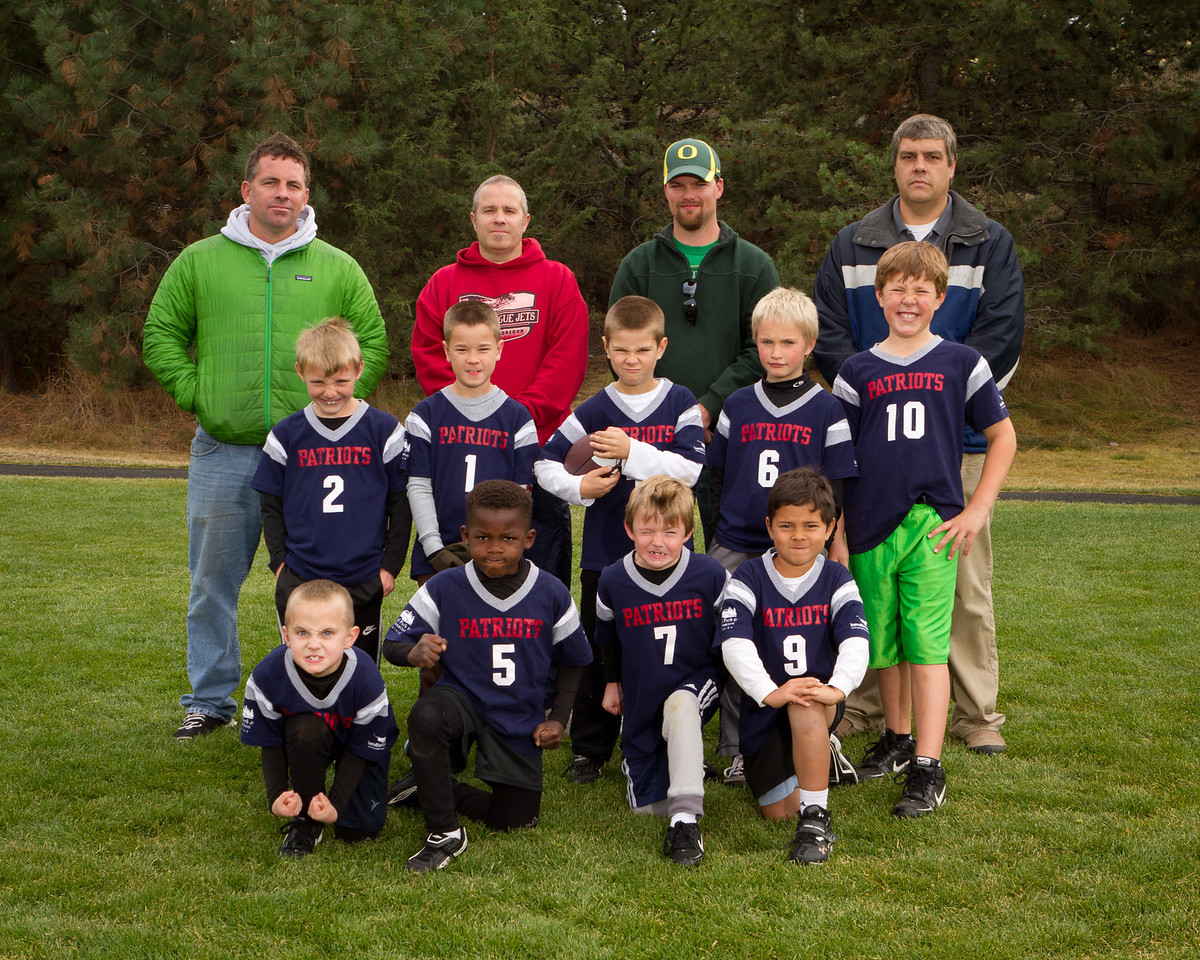 Pariots Team Photos 2012-20