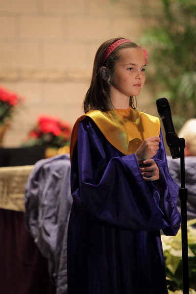 St. Francis Christmas Program 2012-2