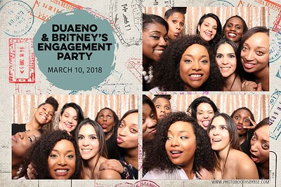Duaeno & Britney's Engagement Party Photo Booth