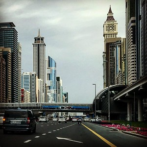 Dubai City Sheikh Zayed Road