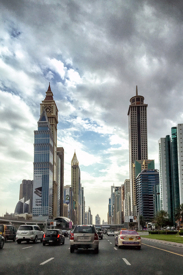 Dubai City Sheikh Zayed Road