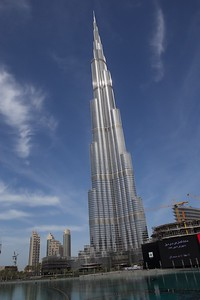 Burj Khalifa over 2722 ft tall