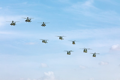 United Arab Emirates Air Force Flyby 11-17-19