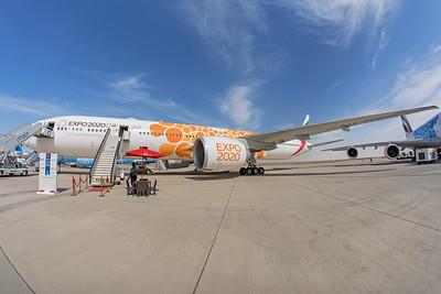 Emirates Boeing 777-300(ER) A6-EQO 11-17-19 2