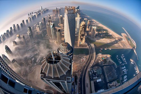 Planet Dubai Fog