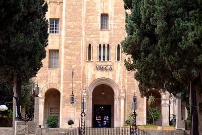 Jerusalem: King David Hotel and YMCA