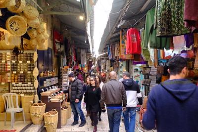 Jerusalem: Wailing Wall and  Muslim Souks