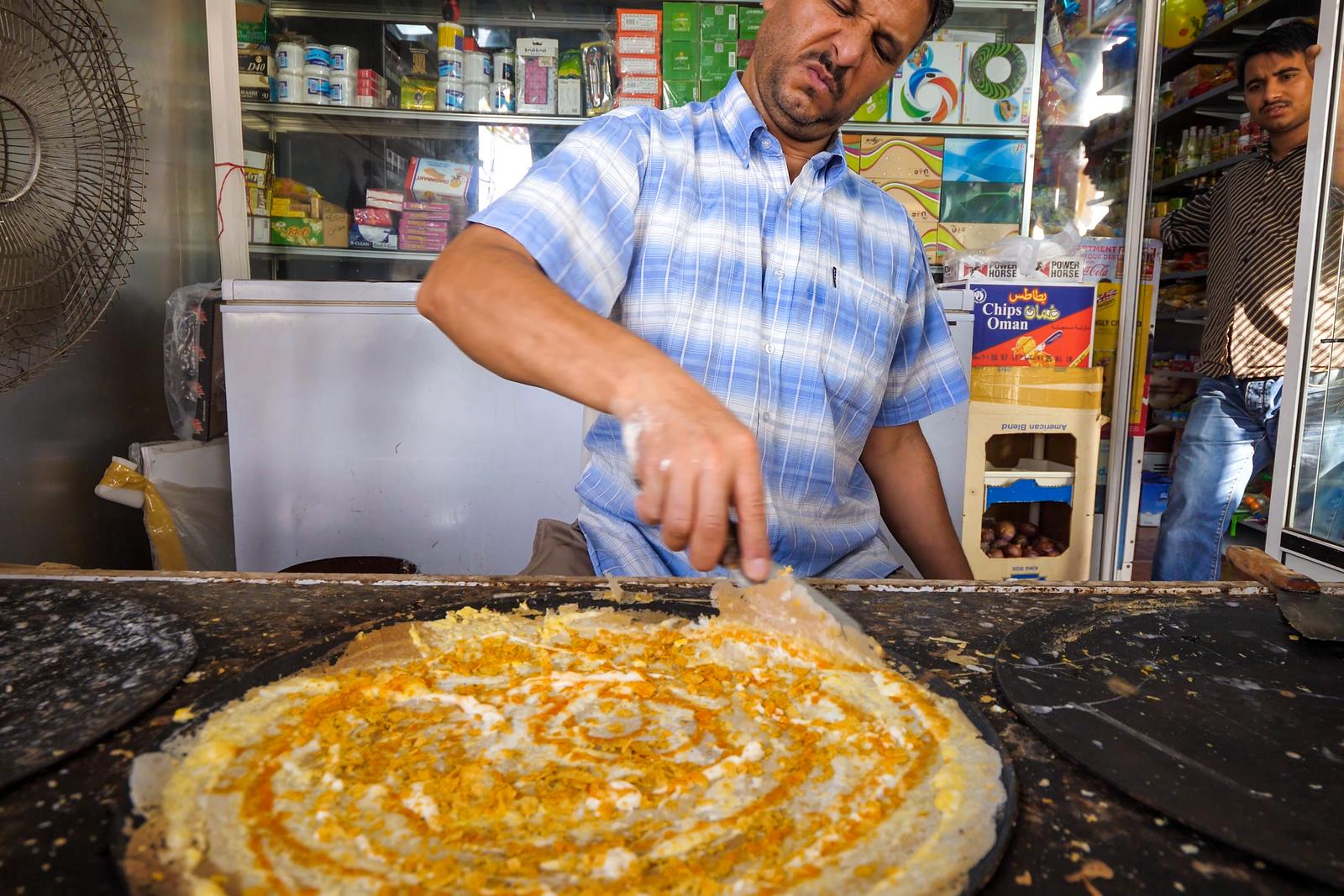 迪拜街美食
