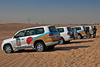 Orient Desert Safari vehicles~these vehicles are 4x4 land cruisers with their tires deflated for running the dunes.