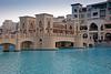 Souk Al Bahar and the Burj pond.