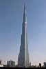 Burj Khalifa, the tallest building in the world, dominates the landscape in Dubai, UAE.