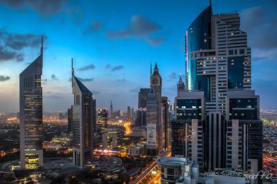 Dubai @dusk