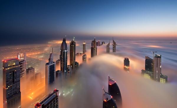Dawn on Cloud City