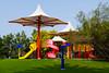 Children's playground in Creek Park, Dubai, UAE.