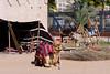 A bedouin exhibit in the Bastakiah quarter of Dubai Creek, Dubai, UAE, Persian Gulf.