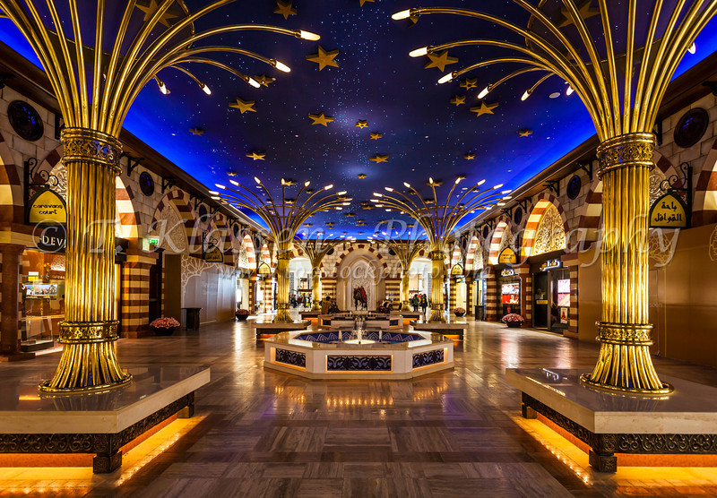 The Gold Souq in the Dubai Mall, Dubai, United Arab Emirates.