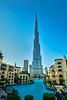The Burj Khalifa tower in downtown Dubai, UAE, Middle East.