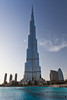 The Burj Al Kahlifa tower in Dubai, UAE.