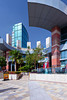 Architecture at the Festival City Mall in Dubai, UAE, Persian Gulf.