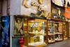 Jewellery shops in the Gold Souq of Dubai, UAE.