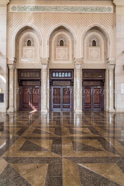 The Al Manara Mosque in Dubai, UAE, Middle East.