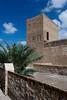 The Dubai Museum and historical Fort Al Fahidi in Dubai, UAE.