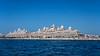 The Kempinski Hotel and Residences on the Palm Jumeirah islands off the coast of Dubai, UAE, Middle East.