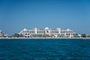 The Jumeirah Zabeel Saray Hotel and resort on the Palm Jumeirah islands off the coast of Dubai, UAE, Middle East.