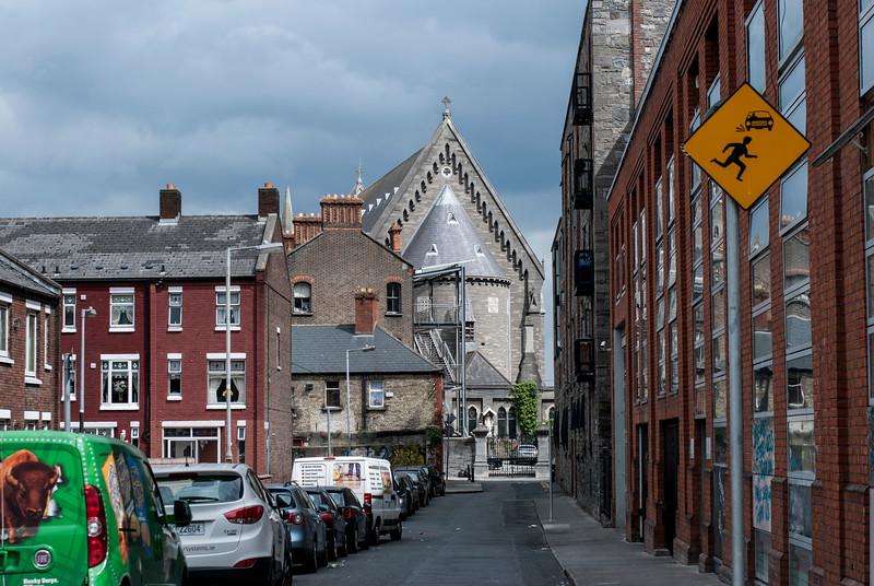 Dublin Street with Church