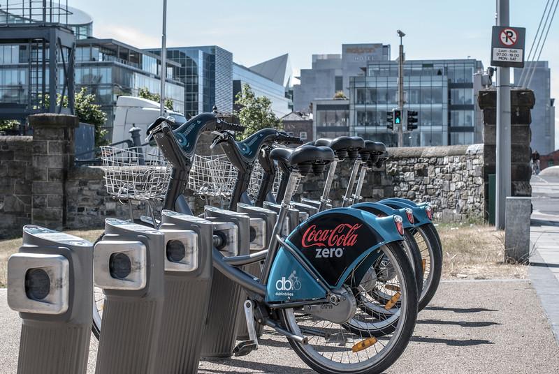 DublinBikes bikeshare bikes