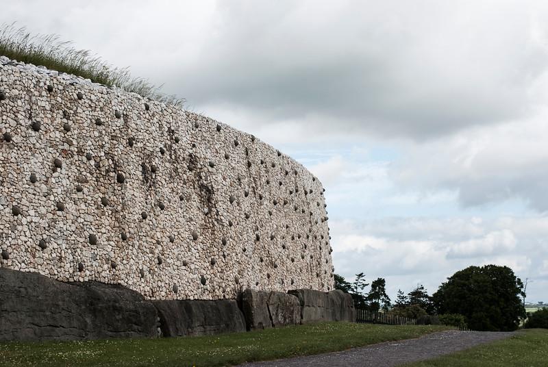 Newgrange rockwall