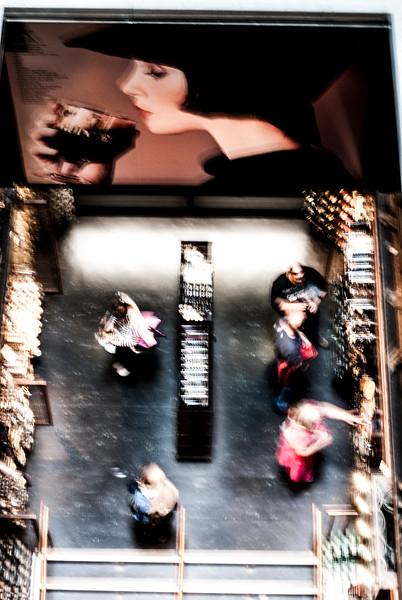 Guinness Store Overhead Blur
