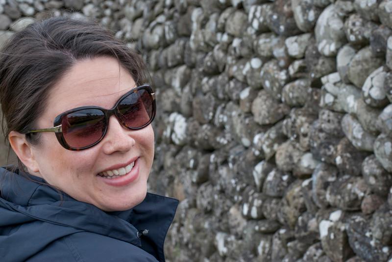 Newgrange smiling