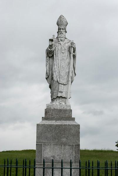 Hill of Tara Saint Patrick statue