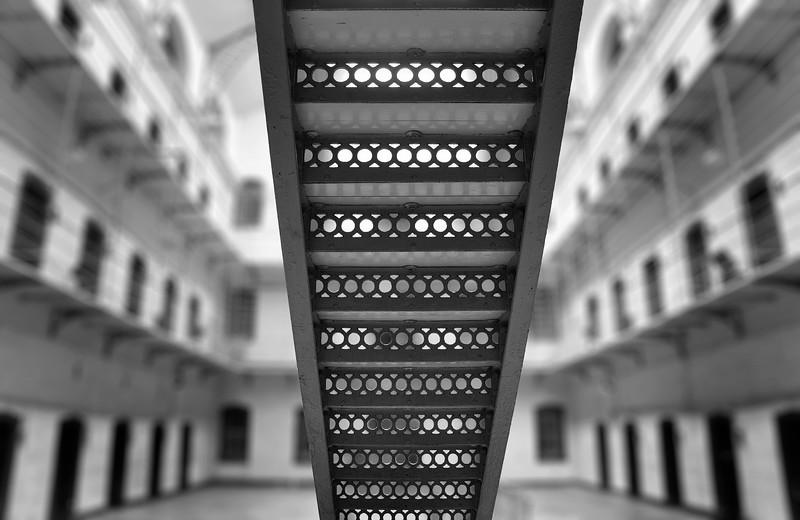 Kilmainham Gaol Stairs. 2016.