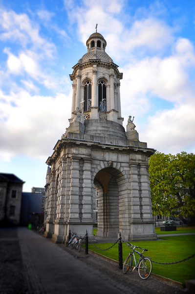 The Campanile of Trinity College, Dublin. 2016.
