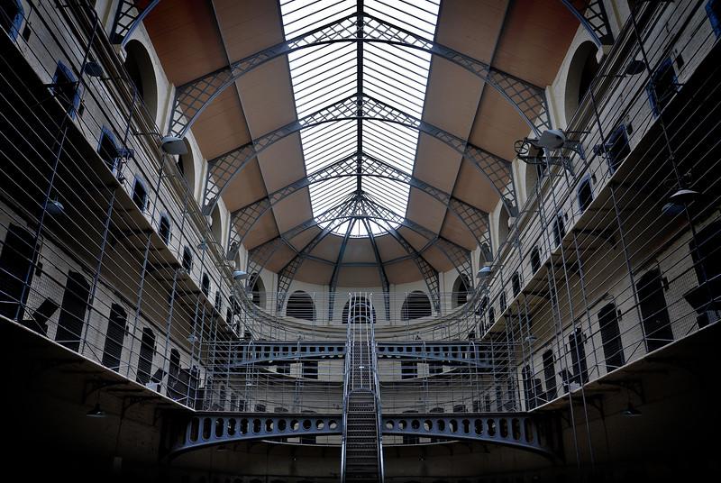 Kilmainham Gaol Upper Floors. 2016.