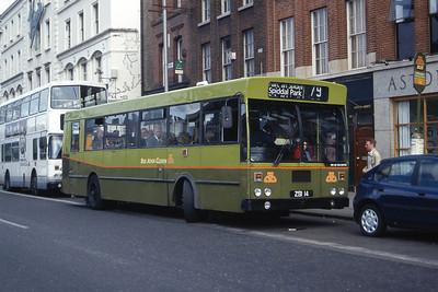 Dublinbus KC14 Aston Quay Jul 97